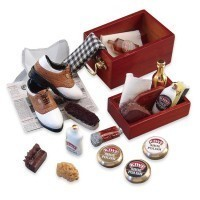 (*) Dollhouse Deluxe Shoe Shine Kit - Product Image