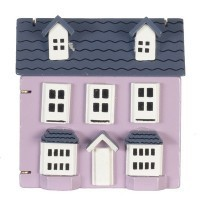 Miniature Dollhouse Dollhouse (Rose) - Product Image