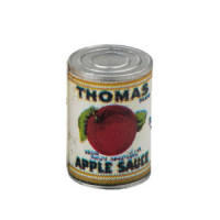 (*) Dollhouse Thomas Apple Sauce Can - Product Image