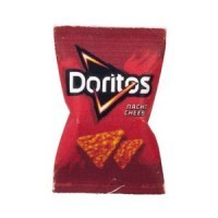 (*) Dollhouse Bag of Doritos Chips - Product Image