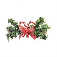 New Dollhouse Candy Cane Swag - Product Image