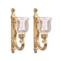 Wall Sconce, 1 Pair (Non Electrical) - Product Image