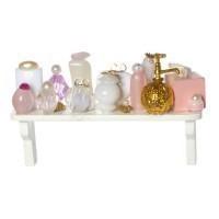 (*) Long Perfume Shelf - Product Image