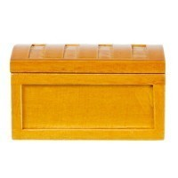 Dollhouse Steamer Trunk - Product Image