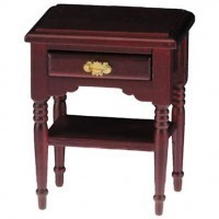 Dollhouse Mahogany Open Night Stand - Product Image
