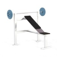 Dollhouse Weight Bench w/ Weight - Product Image
