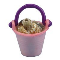 (**) Dollhouse Pail Of Shells (Assorted) - Product Image