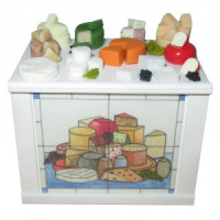 (*) Dollhouse Cheese Display Stand- Choice of Style - - Product Image