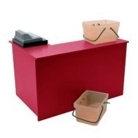 (*) Dollhouse Checkout Desk or Counter- Choice of Color - - Product Image
