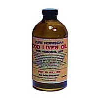 Dollhouse Bottle of Cod Liver Oil - Product Image