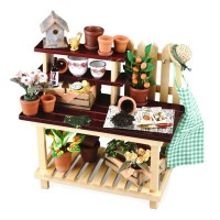 Dollhouse Garden Potting Bench - Product Image
