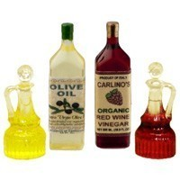 (**) Dollhouse Olive Oil & Vinegar Salad Set - Product Image