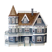 Queen Anne Dollhouse (Kit) - Product Image