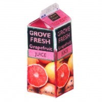(*) Dollhouse Grapefruit Juice - Carton - Product Image