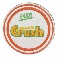 "(**) Dollhouse ""Orange Crush"" Sign - Product Image"
