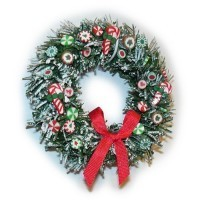 Dollhouse Candy Wreath - Product Image