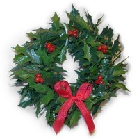Dollhouse Wreath - Red Berries - Product Image