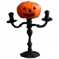 Dollhouse Pumpkin Candelabra - Product Image