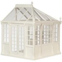 Dollhouse Greenhouse - White - Product Image