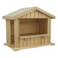 Dollhouse Christmas Stall(s)- Choice of Styles - - Product Image