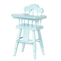 Dollhouse Highchair (Assorted Colors) - Product Image