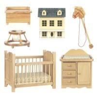 Dollhouse Complete Nursery - Product Image