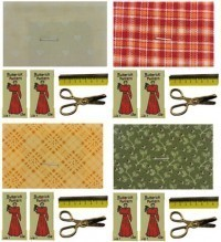 (**) Dollhouse Sewing Accessory Set - Product Image