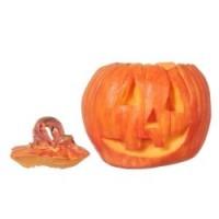 (**) Dollhouse Jack-O'-Lantern Pumpkin - Product Image