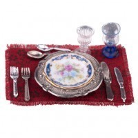 Dollhouse Blue Royale Place Setting - Product Image