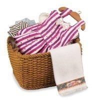 (*) Dollhouse Laundry Basket(s) - Product Image