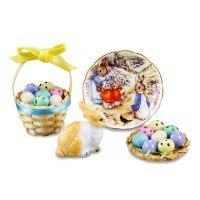 Dollhouse Deluxe Peter Rabbit Easter Set - Product Image
