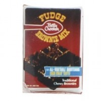 (**) Dollhouse Brownie Mix Box - Product Image