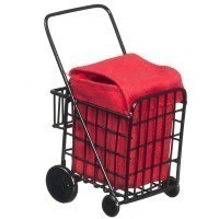(**) Dollhouse Shopping Cart - Product Image