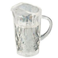 Dollhouse Filled Water Pitcher - Product Image