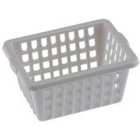 (*) Dollhouse White Laundry Basket - Product Image