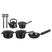 Dollhouse 10 pc Cookware Set - Product Image