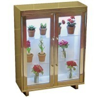 (*) Dollhouse Florist's Display Cabinet - Product Image
