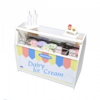 ( ) Dollhouse Ice-Cream Display Cabinet - Product Image