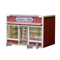 General Store Dollhouse Kit - Product Image