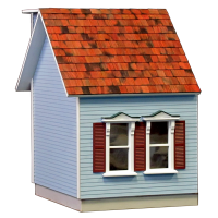 Colonial Dollhouse Addition - 5042 - Product Image