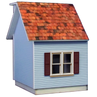Colonial Dollhouse Addition - 5044 - Product Image