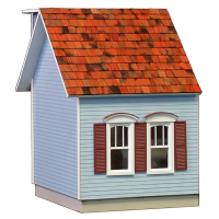 Colonial Dollhouse Addition - JQ13W - Product Image