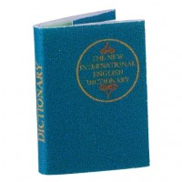 Dollhouse Readable Dictionary - Product Image