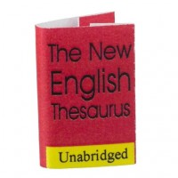 Dollhouse Readable Thesaurus - Product Image