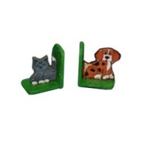 Dollhouse Wooden Bookends - Product Image