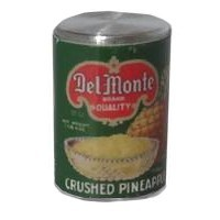 (*) Dollhouse Can of Crushed Pineapple - Product Image