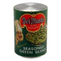 (**) Dollhouse Seasoned Green Beans Can - Product Image