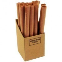 Brown Wrapping Paper Display Box - Product Image