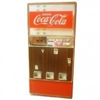 (**) Collectable Soda Refrigerator - Product Image
