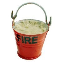 (**) Dollhouse Filled Fire Bucket(s) - Product Image